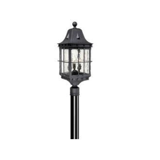 "Vaxcel Lighting ED-OPU090TB Edinburgh 9"" Outdoor Post Light"