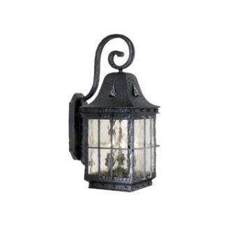 """Vaxcel Lighting ED-OWD090TB Edinburgh 9"""" Outdoor Wall Light"""