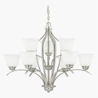 Vaxcel Lighting H0092 Darby - Nine Light Chandelier