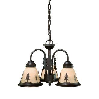 Vaxcel Lighting LK55516BBZ-C Yosemite - Three Ceiling Fan Light Kit