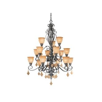 Vaxcel Lighting MM-CHU015AE Montmarte - Fifteen Light Chandelier