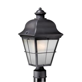"Vaxcel Lighting NH-OPU080OR New Haven - 8"" Outdoor Post Mount"