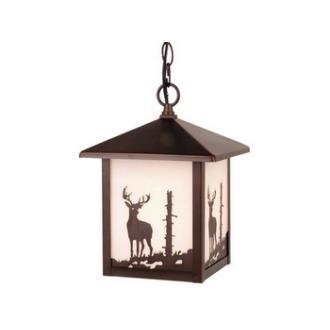 Vaxcel Lighting OD33586BBZ Yellowstone - One Light Outdoor Pendant