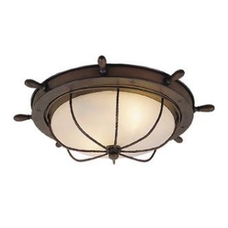 """Vaxcel Lighting OF25515RC Nautical - 15"""" Indoor/Outdoor Ceiling Mount"""