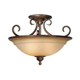 "Vaxcel Lighting OM-CFU160 Nice - 16.5"" Semi-Flush Ceiling Mount"