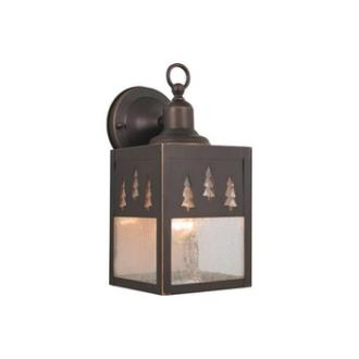 Vaxcel Lighting OW24953BBZ Yellowstone - One Light Outdoor Wall Sconce