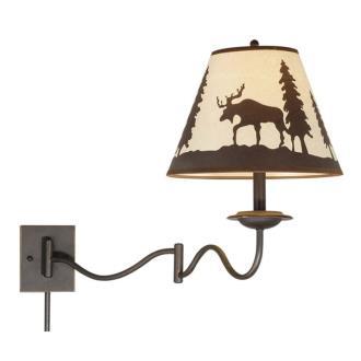 Vaxcel Lighting WL55612BBZ Yellowstone - One Light Wall Mount
