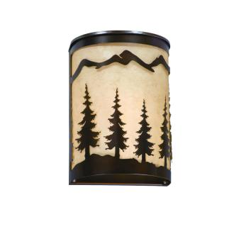 Vaxcel Lighting WS55508BBZ Yosemite - One Light Wall Sconce